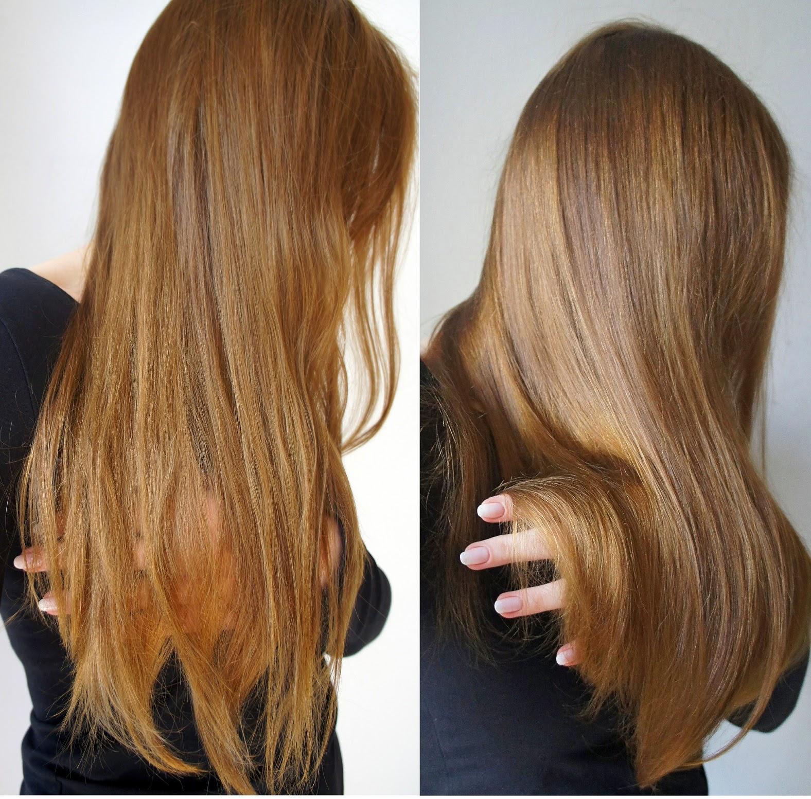 My Coral Pink: Laminowanie włosów żelatyną