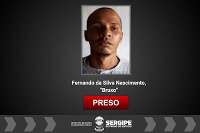 Polícia Civil cumpre mandado de prisão preventiva por tráfico de drogas em Maruim