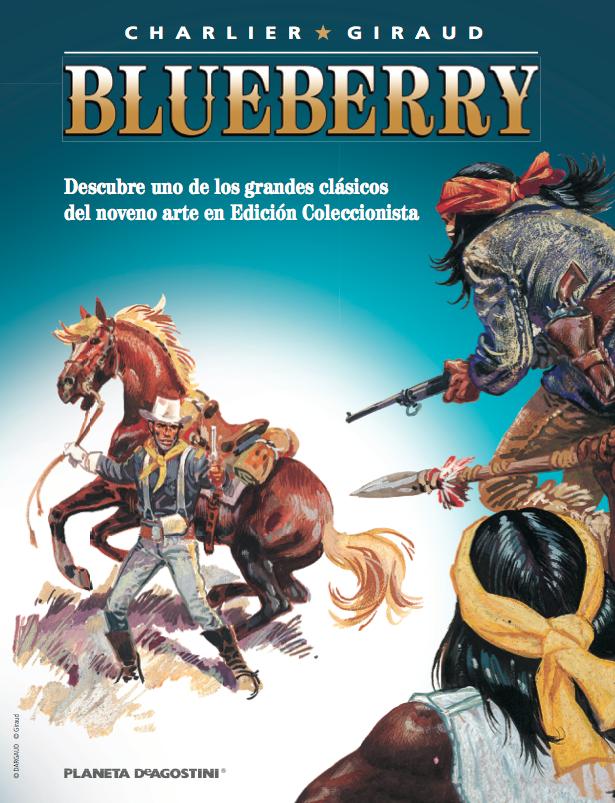 El blog de c mics javier colecci n de c mics del teniente for Teniente blueberry