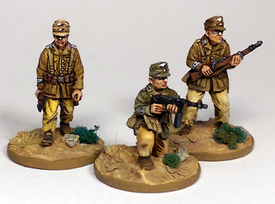 Offensive Miniatures DAK Command Team