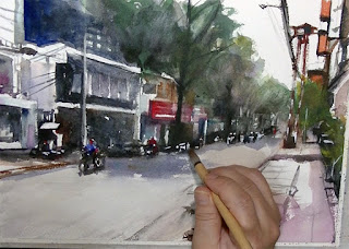 ベトナムの街角 7
