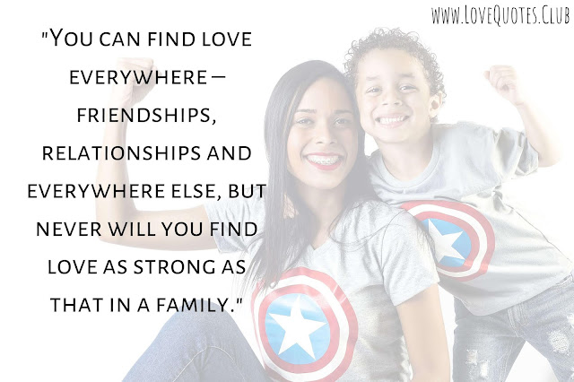 love quotes with family