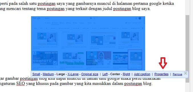 Cara Pengaturan Gambar Postingan Blog Agar Muncul Di Pencarian Google Ato Menulis