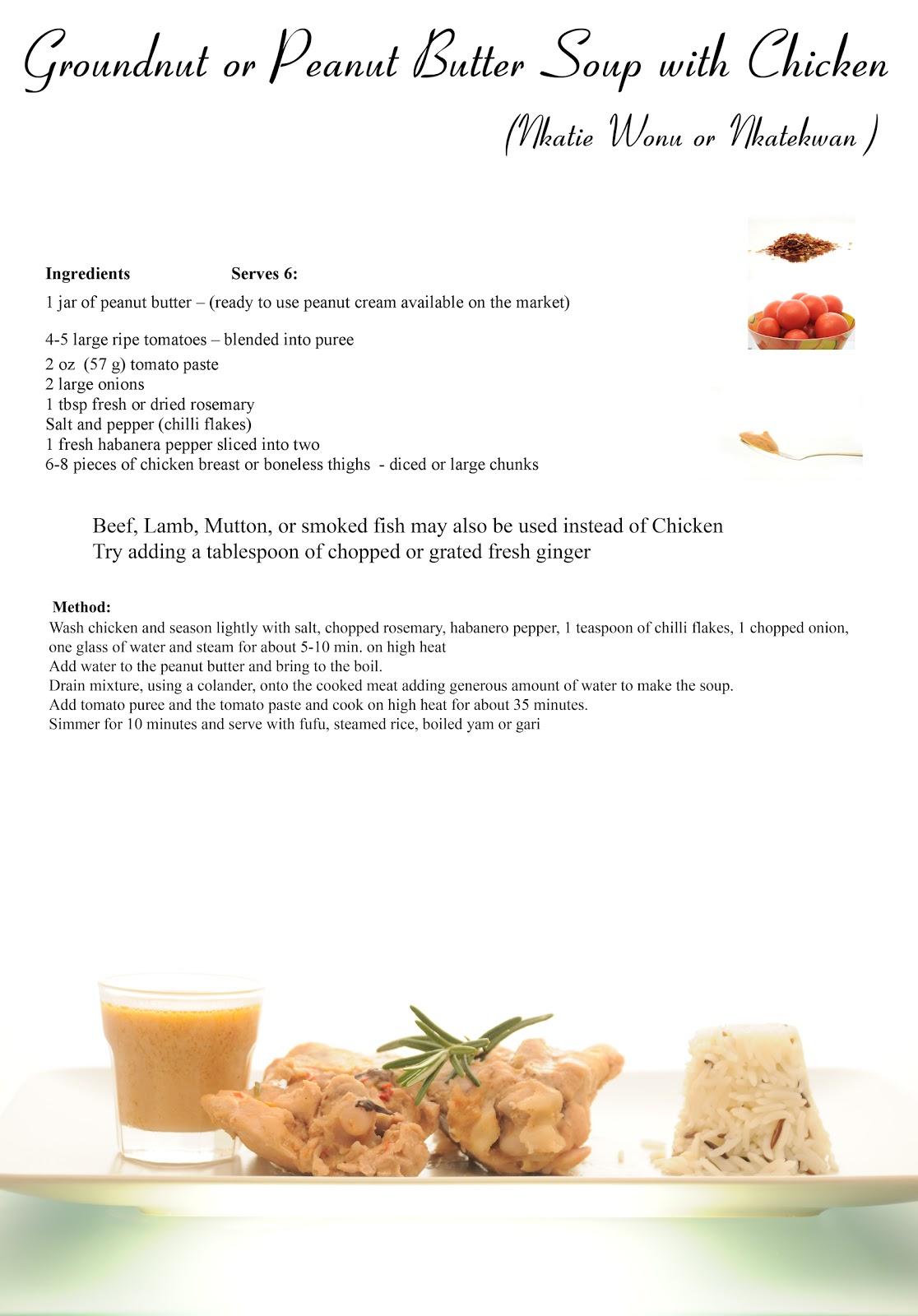 peanut butter soup recipe