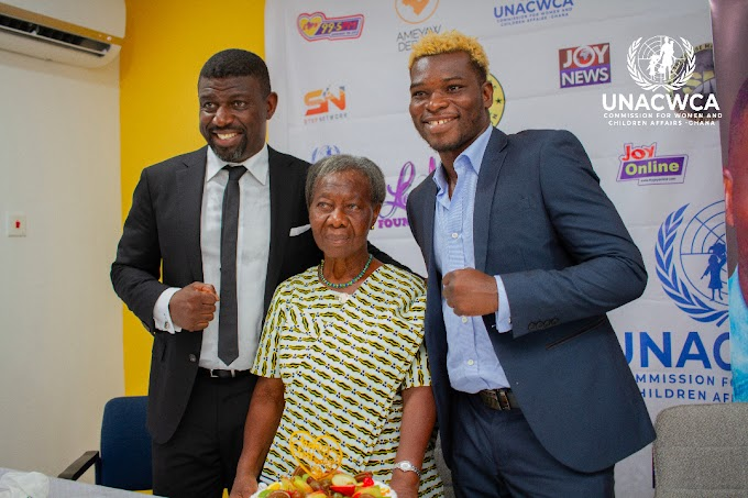 Richard Oblitey Commey Unveiled As A Goodwill Ambassador Of The UNACWCA