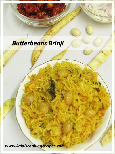 butterbeans coconut milk brinji