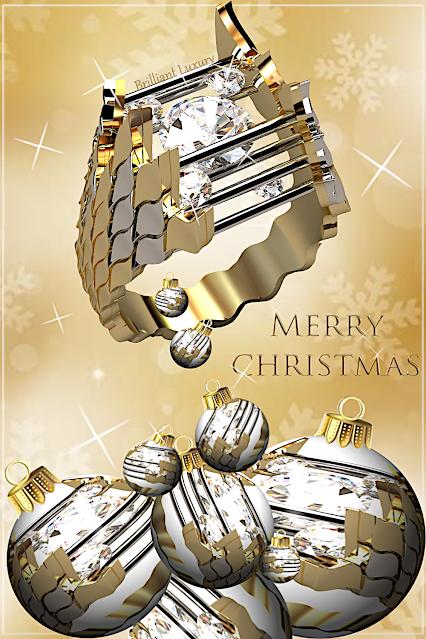 Greg Neeley Jewelry Christmas Edit Caged Fire Ring #brilliantluxury