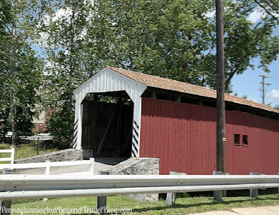 Willow Hill Covered Bridge in Lancaster County Pennsylvania