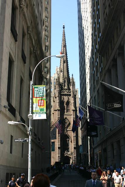 Trinity church-New York