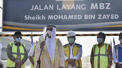 Peresmian Perubahan Nama Jalan Tol Japek 1169 Alasan Dibalik Penetapan Ruas Tol Japek Fly sebagai Sheikh Mohamed BIn Zayed