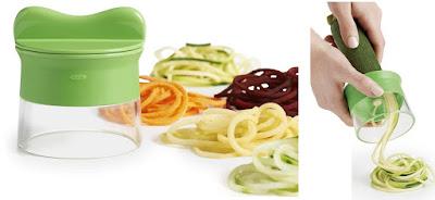 פטנטים וגאדג'טים למטבח - קוצץ ירקות ספירלה