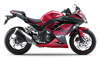 Kawasaki Ninja 250 ABS 2017 Merah Maroon
