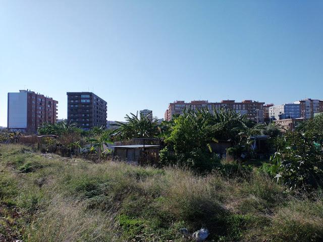 Imagen 11: En Benimaclet sigue las mismas pautas que en otras ciudades y pueblos de la Comunidad Valenciana: Masías, casas y tierras ocupadas, chabolas construidas en solares.