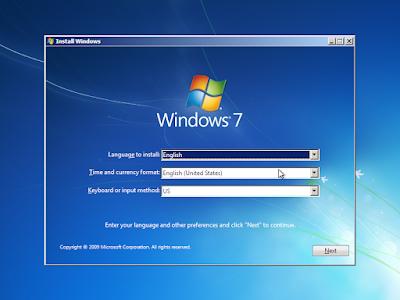 Cara Install dan Install Ulang Windows 7+ dengan Flashdisk 4