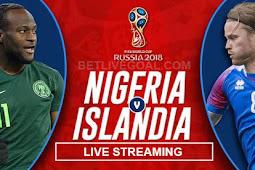 Live Streaming Iceland vs Nigeria 22 Juni 2018