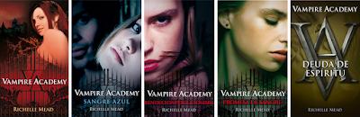 Resultado de imagen de portada vampire academy saga