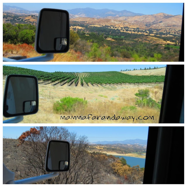 on the road in california con camper a noleggio