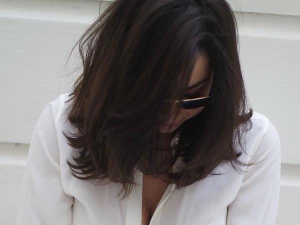 Review: Everlane Modern Silk Point Collar White Button Down