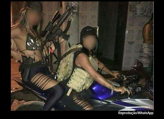 'Bandivas' ostentam armas na Internet e podem parar na cadeia