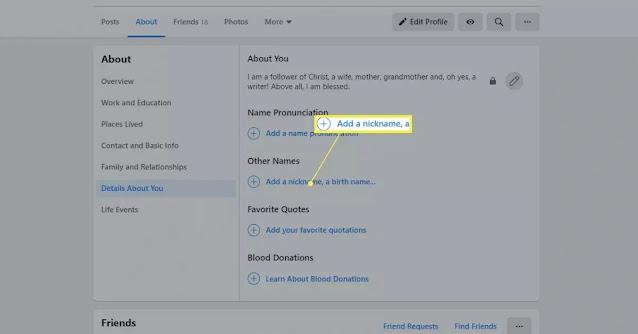 رابط تغير اسم الفيس بوك مزخرف