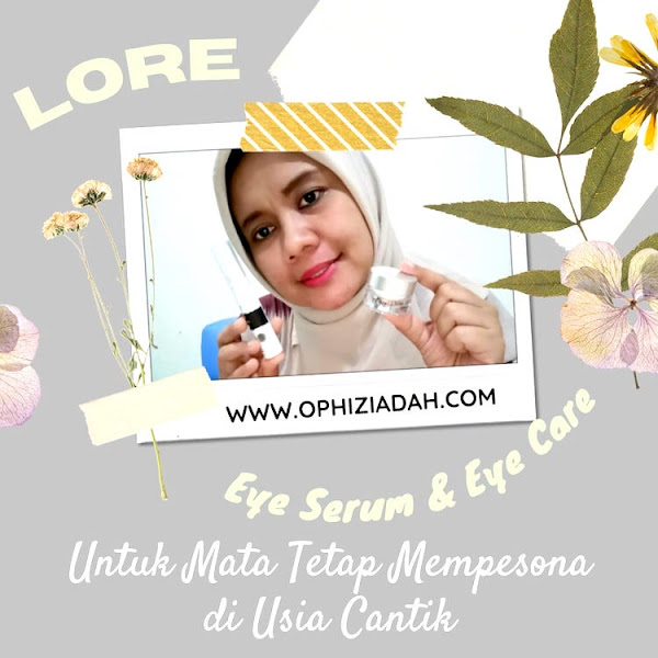 LORE Total Eye Care Serum & Cream: Untuk Mata Tetap Mempesona di Usia 40-an