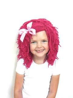 pelucas, pelo postizo, extensiones pelo, pelo de lana, fiestas