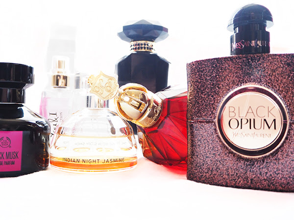 My Current Perfume Collection