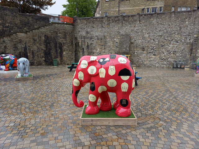 Elephant Parade in Southampton, May 2021