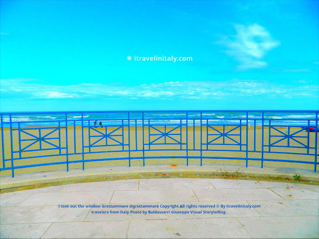 I look out the window Grottammare @grottammare Copyright All rights reserved © By itravelinitaly.com travelers from Italy Photo by Baldassarri Giuseppe Visual Storytelling .