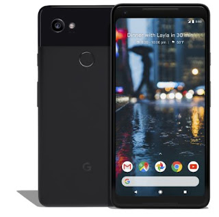 Source: Google blog post. The Google Pixel 2 in Just Black.