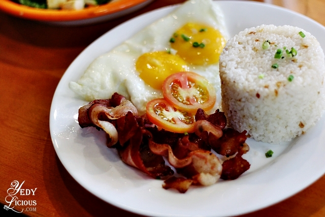 BaconSiLog Yellow Bird Cafe X Kitchen, New Restaurant in Antipolo City Rizal Province. Yellow Bird Cafe X Kitchen Restaurant Blog Review Menu, List of Restaurants in Antipolo, Antipolo Food Trip, Where To Eat in Antipolo, YedyLicious Manila Food Blog