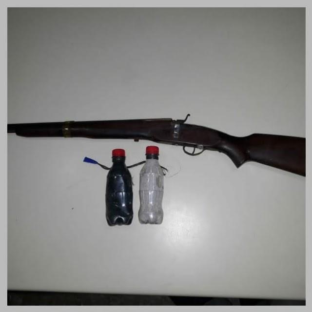 Polícia prende homem armado em Vila Nova zona rural de Belo Jardim, PE