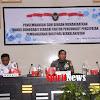 Staf Ahli Bidang SDM dan Teknologi Kemenko  Polhukam, Kunker di Korem 141/Tp