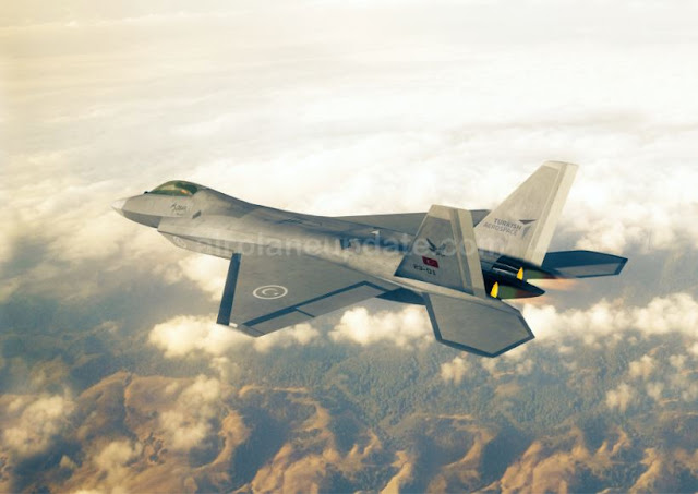 TAI TF-X Stealth Fighter