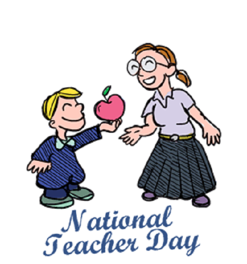 National teachers day images