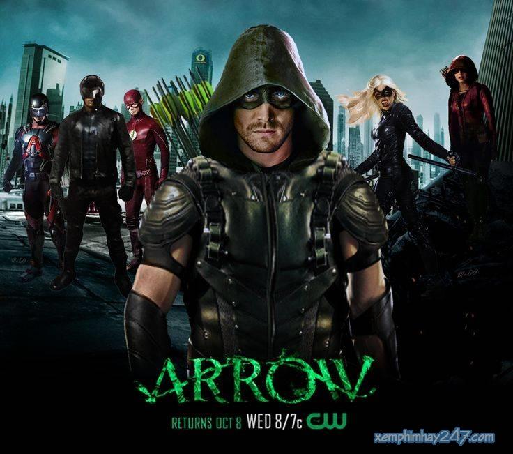 http://xemphimhay247.com - Xem phim hay 247 - Mũi Tên Xanh 5 (2016) - Arrow Season 5 (2016)