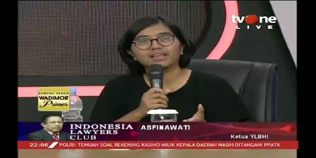 CADAS! Asfinawati Bungkam Para Menteri Jokowi di ILC