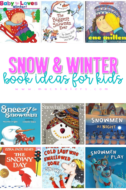 Snow and Winter Themed Books for Kids