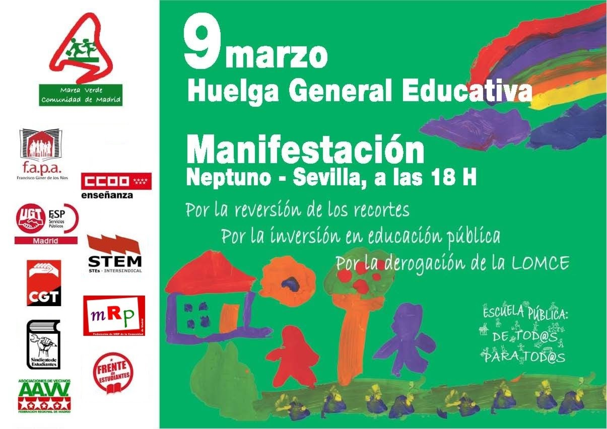 Plataforma regional por la Escuela Pública