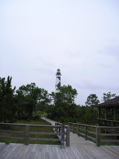 NAMC montessori style vacations america's national parks cape lookout lighthouse