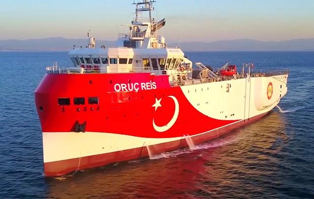 Νέες προκλήσεις Ερντογάν: Μην τυχόν επιτεθείτε στο Oruc Reis αλλιώς θα πληρώσετε βαρύ τίμημα
