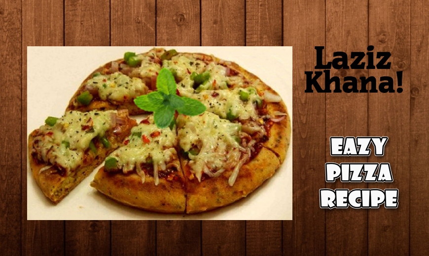 Pizza Recipe in Roman English - Tawa Pizza Banane ka Tarika
