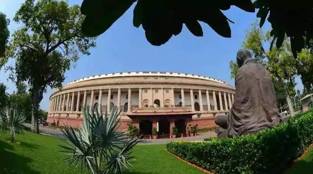photo of parliament Building India