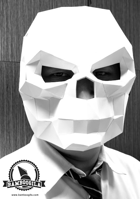 DIY Skull Head Papercraft