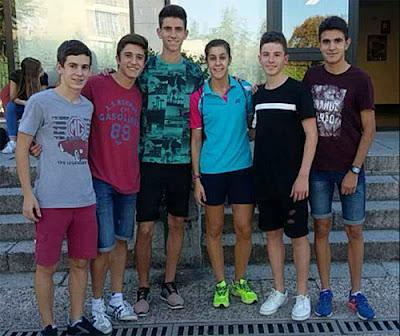 Atletismo Aranjuez - Club Marathón Aranjuez - Carolina Marín