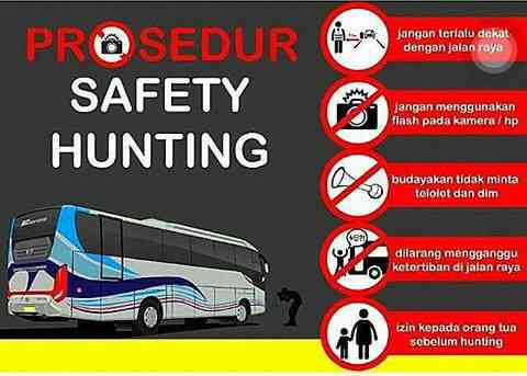 macam-macam safety hunting