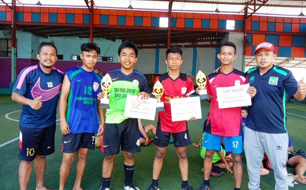 MYS10 Sport Futsal Cup VIII, Gowata PKG Keluar Sebagai Juara
