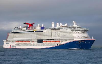 Mardi Gras - Cruise Ship - Bahamas Flag
