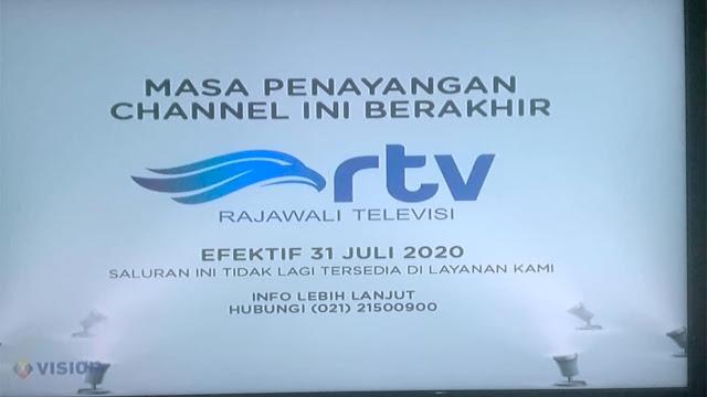 Cara Mengatasi Siaran RTV menghilang di K Vision