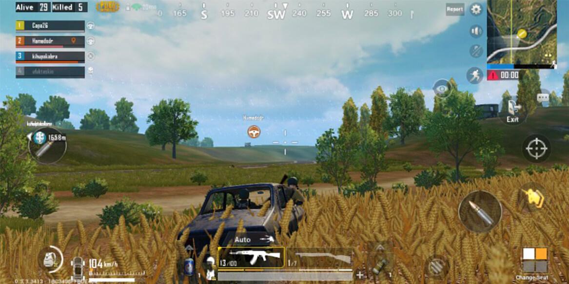 pubg mobile consejos vehículo